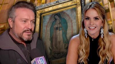 Te sorprenderá lo devotos que son estos famosos a la Virgen de Guadalupe
