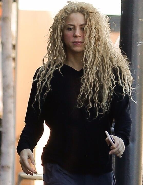 La expresión de Shakira ya anticipaba que algo no estaba bien.