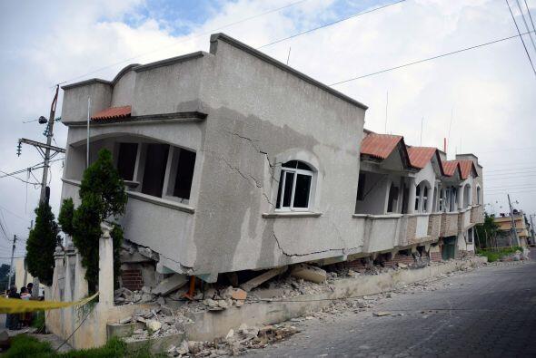 Ante los daños y las pérdidas, el presidente de Guatemala, Otto Pérez Mo...