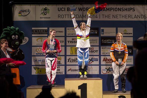 Mariana ha ganado 13 campeonatos mundiales, 2 campeonatos en Estados Uni...