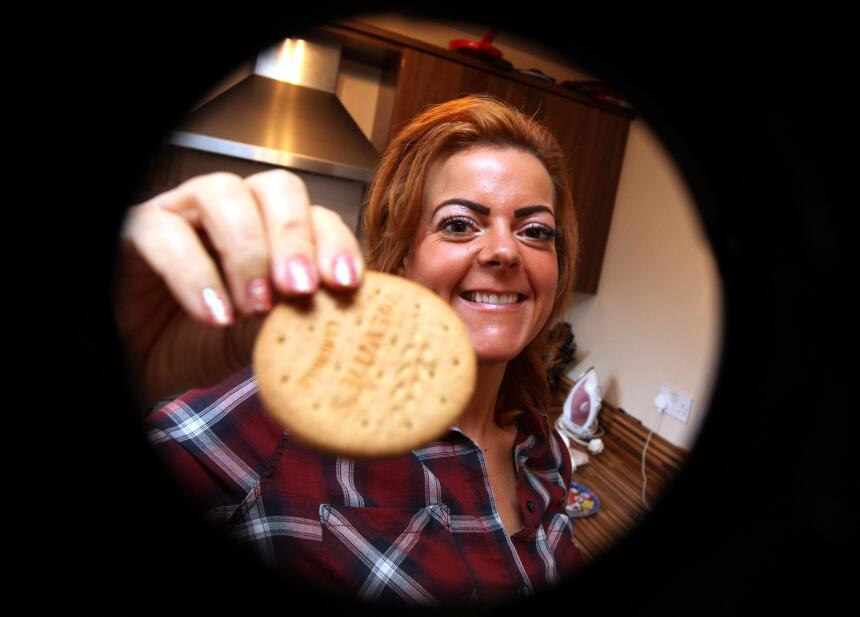Mujer dejó las galletas sabrosas