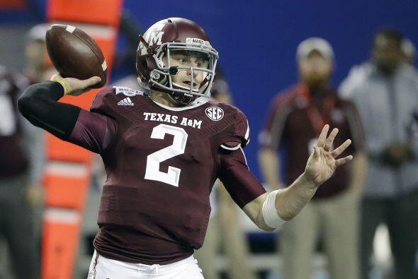 7. Johnny Manziel, QB, Texas A&M (AP-NFL).