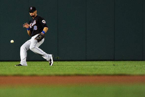 CF. Ángel Pagán. Mets de Nueva York. El boricua tuvo un promedio de .259...