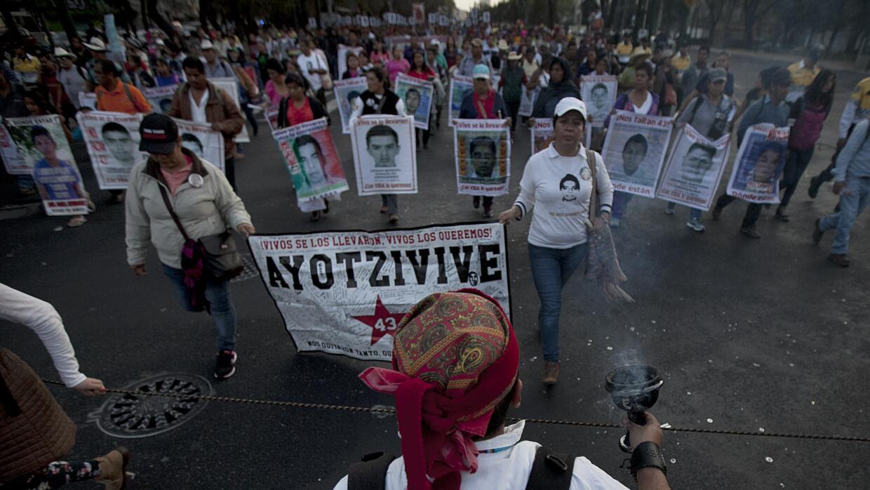 Ayotzinapa marcha