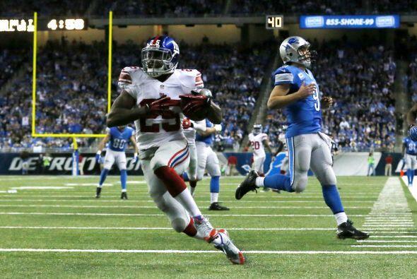 Will Hill regresó una intercepción de Matthew Stafford para touchdown y...