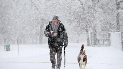 Tormenta de nieve Illinois