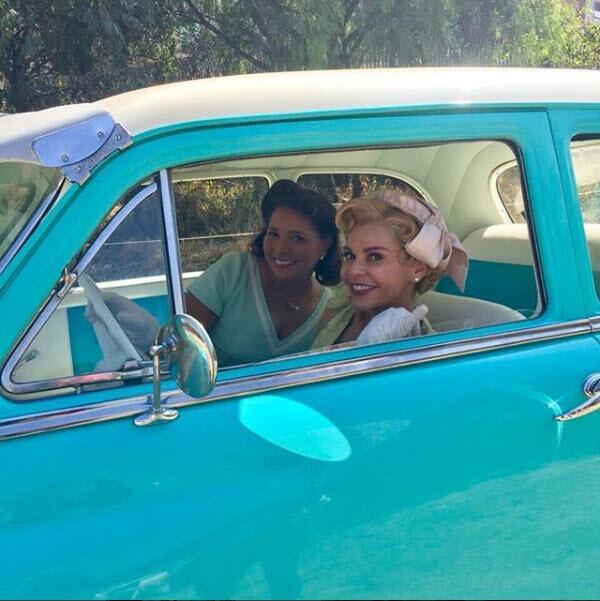Gaby Rivero en la bioserie de Silvia Pinal