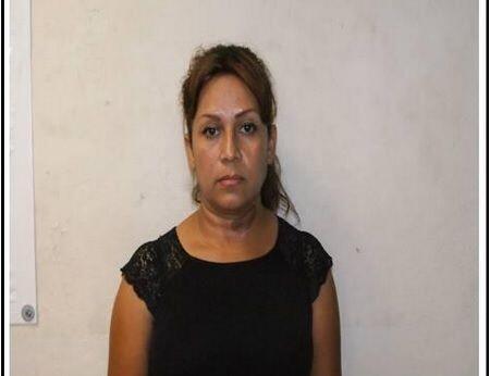 Alma Delia, la esposa de Aldo, también fue arrestada como responsable de...