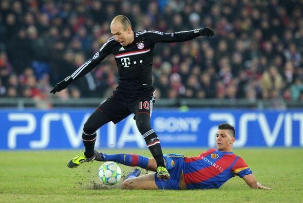 Jugadores como Arjen Robben sencillamente no lucieron.