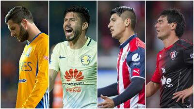 15 'Killers' con la pólvora mojada en el Clausura 2017