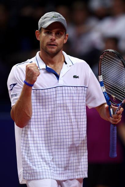 El estadounidense Andy Roddick es el útlimo clasificado, y lo hizo por o...