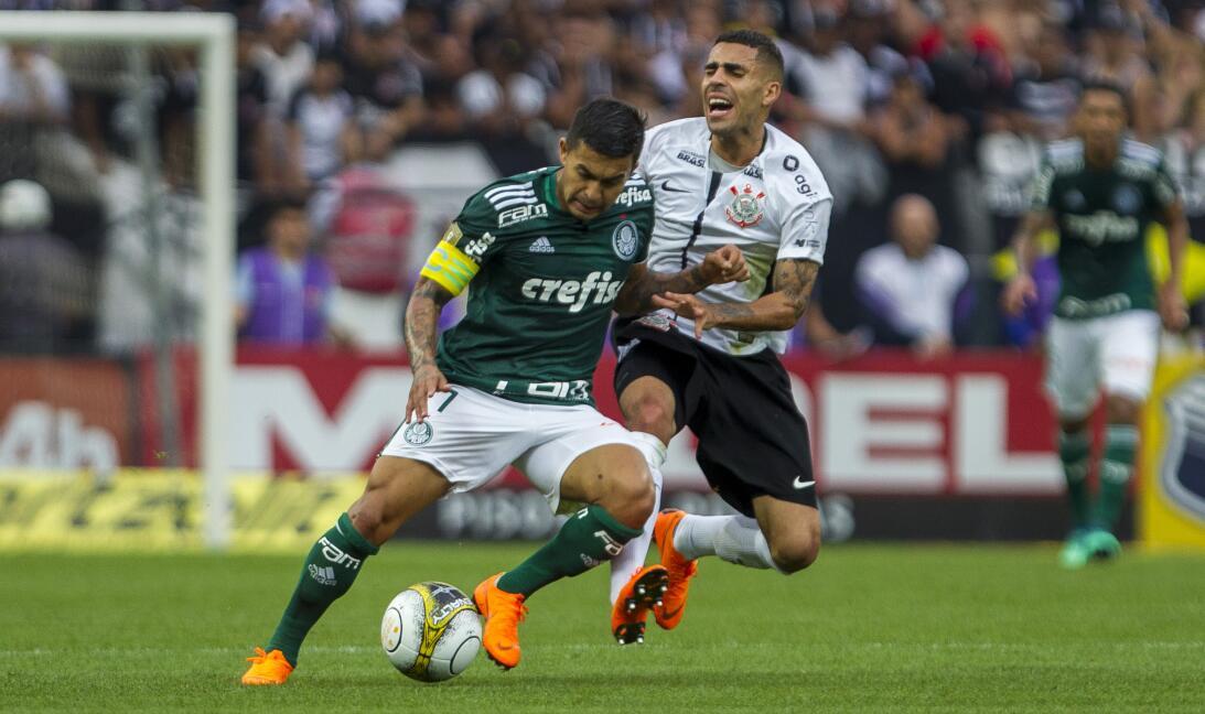 8 de abril - Corinthians Vs. Palmeiras (Final - Paulistao 2018)