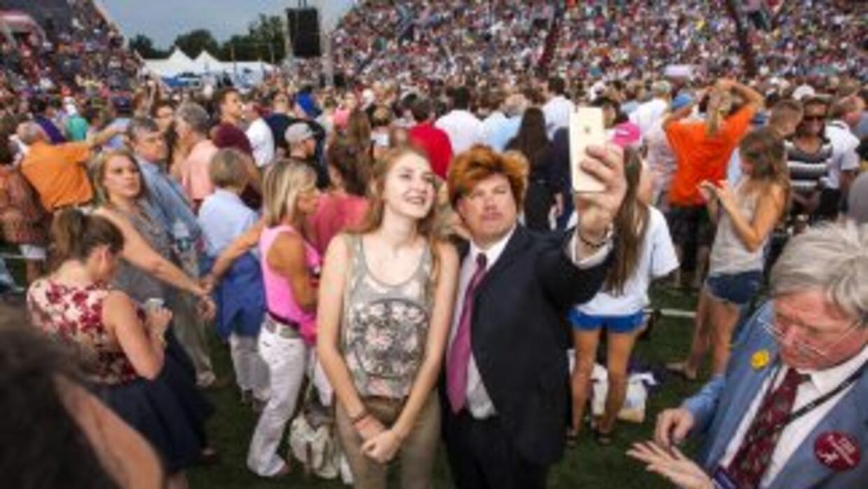 Simpatizantes de Trump en Mobile, Alabama
