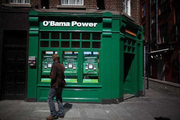 Toda Irlanda se preparó para recibir al presidente Barack Obama, quien m...