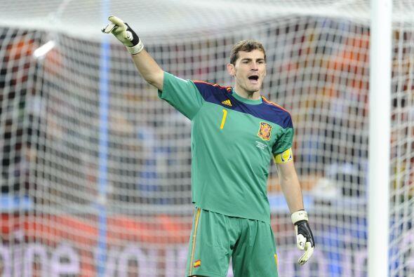 Casillas llega al Mundial de Brasil con 15 partidos disputados en Copas...