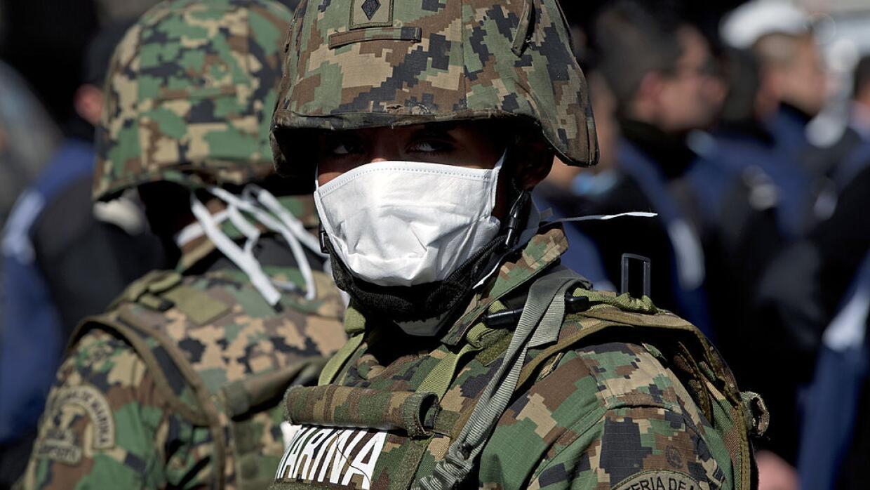 Elementos de la Marina de México