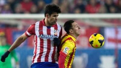 Diego Costa y Messi encabezan al Atlético y Barcelona en otro apasionant...