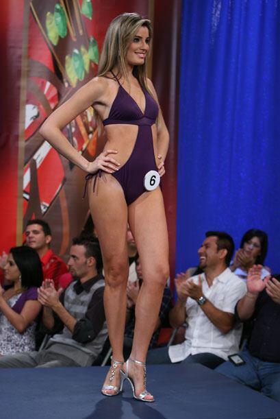 Esta bella cubana se llama Greta Jiménez.
