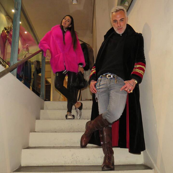Gianluca Vacchi y Ariadna reaparecen más enamorados que nunca 14607083_3...