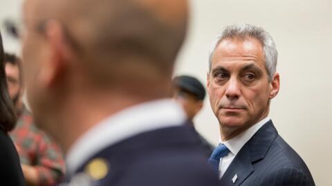 Rham Emanuel, alcalde de Chicago