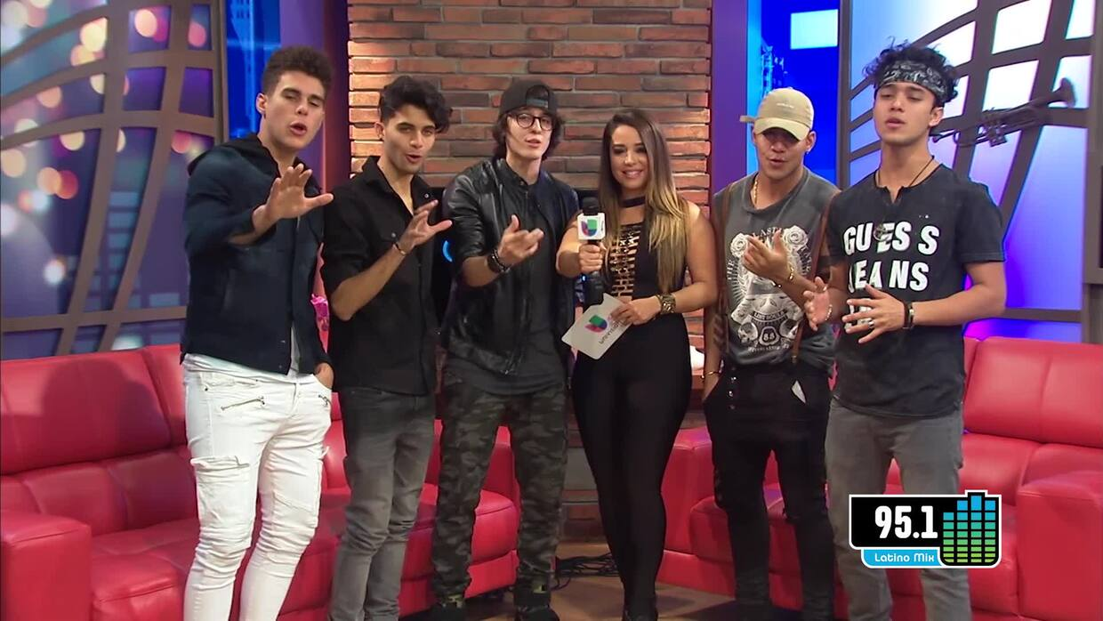 CNCO beyond the lights with Yaya