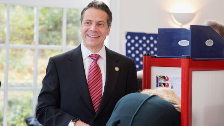 Andrew Cuomo gana reelección al gobierno de Nueva York.