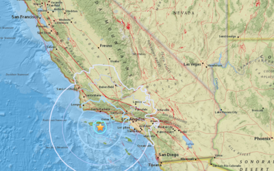 Temblor de 5.3 se sintió en el sur de California el 5 de abril a...