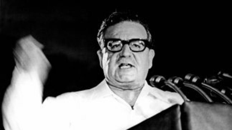 Salvador Allende, en una foto de archivo. Fue derrocado en un golpe de e...