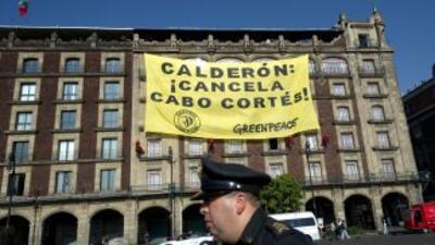 El presidente de México, Felipe Calderón, anunció la cancelación del pro...