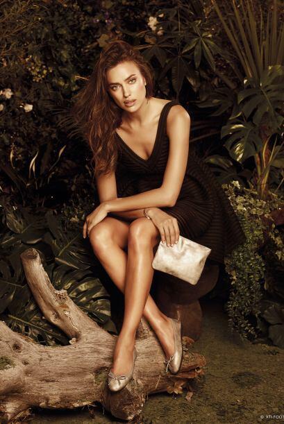 Irina Shayk presentó las imágenes de la nueva campaña de ropa XTI y luce...