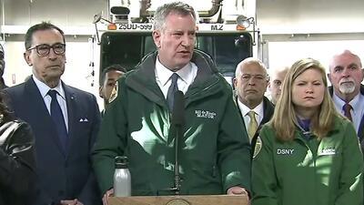 Bill de Blasio declara estado de emergencia en Nueva York