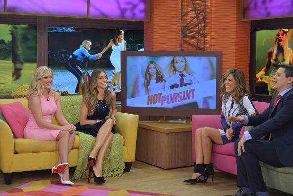 Las actrices se encuentran promocionando la cinta 'Hot Pursuit', una his...