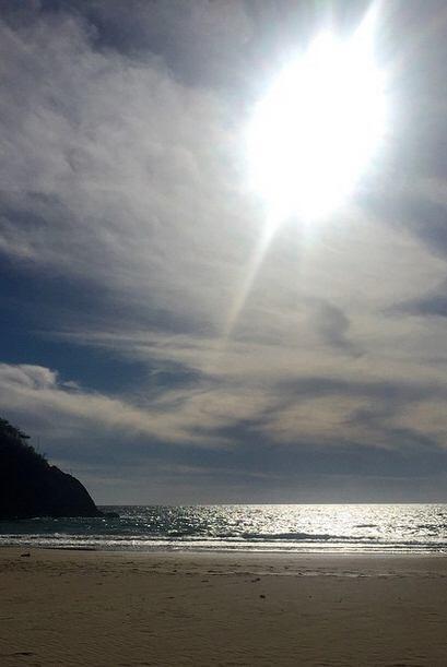 Marjorie presumió los bellos paisajes de las playas de Manzanillo, Colim...