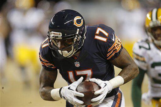 Alshon Jeffrey, receptor de los Chicago Bears (AP-NFL)