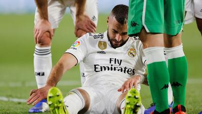 Otra baja más para el Real Madrid: Karim Benzema será operado el domingo