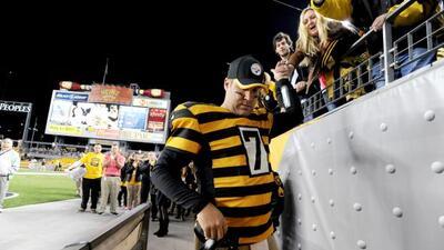 Actuación histórica para el quarterback de los Pittsburgh Steelers (AP-N...