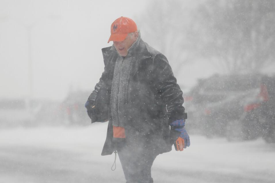 NUeva York resiste el ciclón invernal