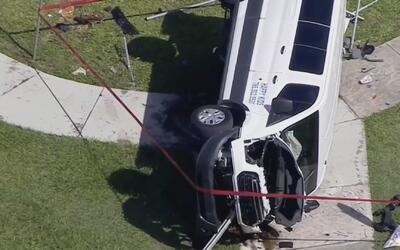 """""""Yo no soy culpable"""": conductora del vehículo escolar privado que chocó..."""