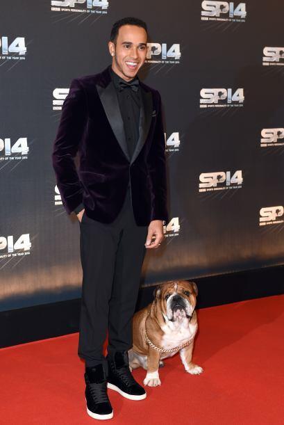 Lewis Hamilton fue reconocido como la personalidad deportiva en su país...