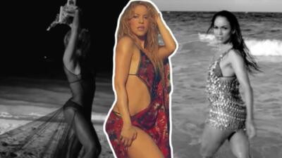 ¿'Clandestino'?: dicen que Shakira se copió de JLo y Beyoncé para su nuevo video (te mostramos por qué)