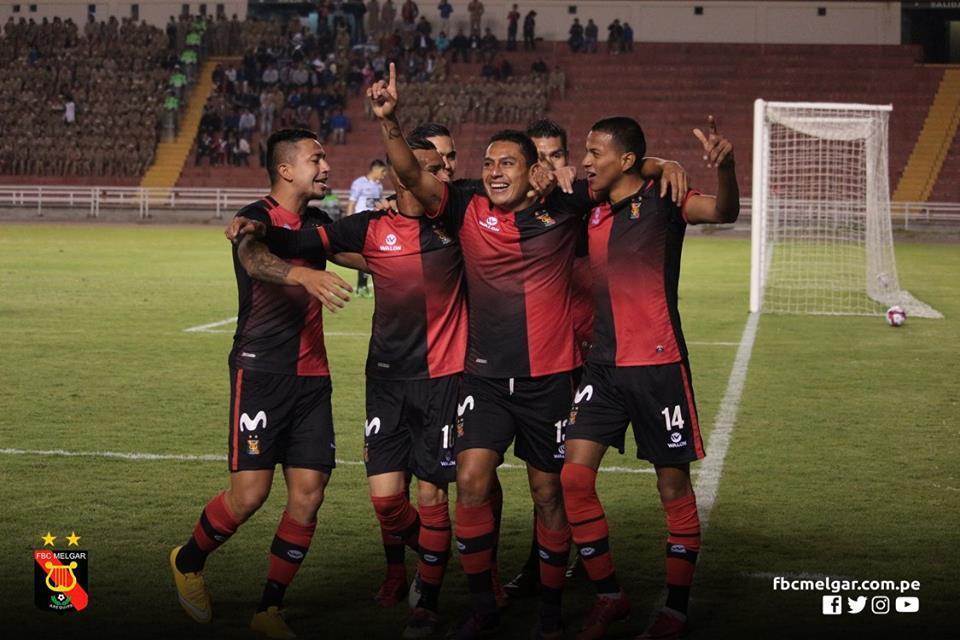 Omar Tejeda: el ex Lobos se reportó con un gol en el triunfo del Melgar...