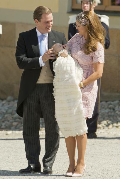 Christopher O'Neill estuvo en todo momento al pendiente de su hija.