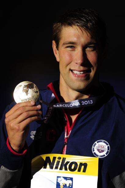 La última medalla dorada de la jornada se la llevó el estadounidense Mat...