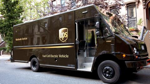 Así es el prototipo de camión que desarrolla UPS para impl...