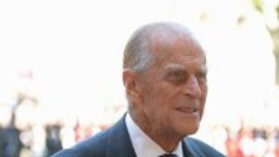 El príncipe Felipe, consorte de la reina Isabel II de Inglaterra.