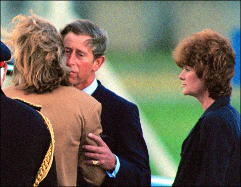 Sarah McCorquodale, era seis años menor que el príncipe Carlos.