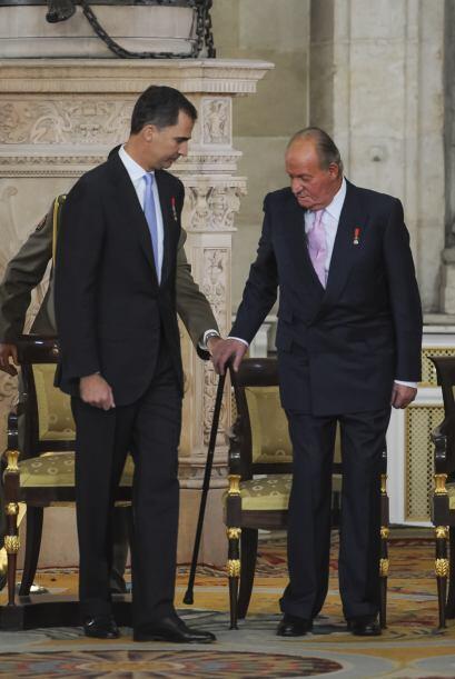 Juan Carlos de Borbón no pasó las vacaciones de verano en la residencia...