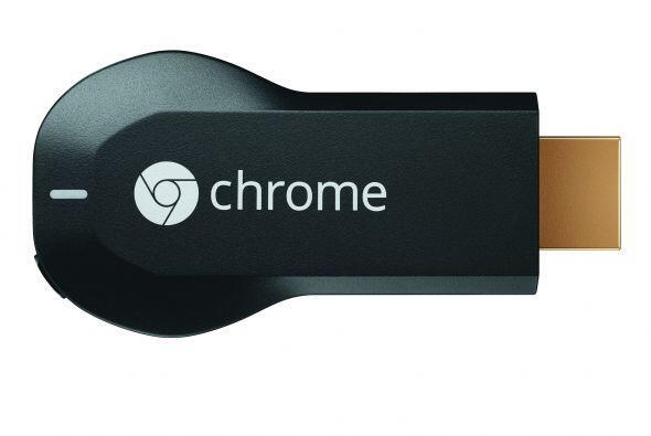 Si quieres sorprender a papá regálale un Google Chromecast este pequeño...