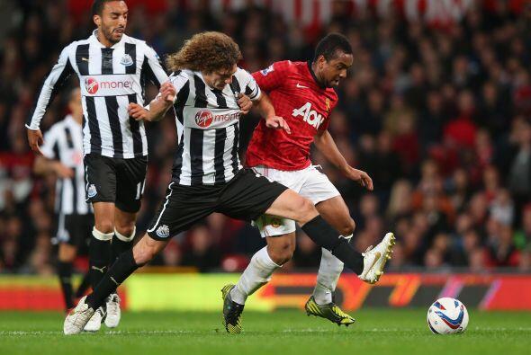El Newcastle aún no daba por perdido el duelo. Había descontado gracias...