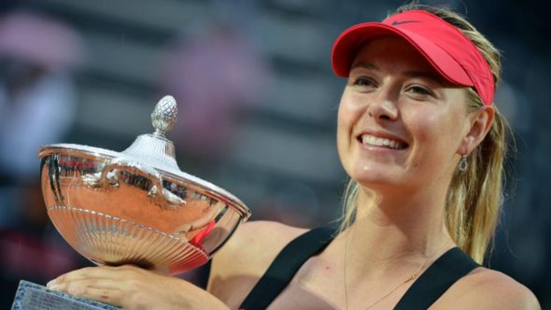 La rusa refrendó su reinado en la arcilla del Torneo de Roma.